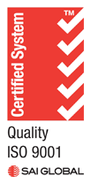 Quality ISO 9001 Certified